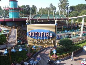 Autopia (c) Disney