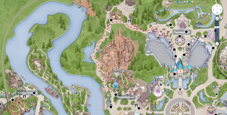 Big Thunder to Fantasyland