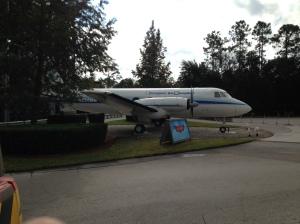Walt's plane