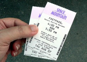 Space Mountain Fast Pass