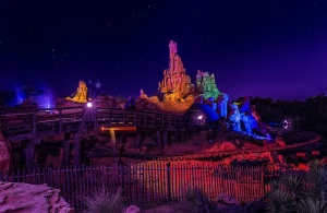 thunder mountain night