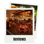 Reviews for hotels and restaurants at Disneyland and Disney World