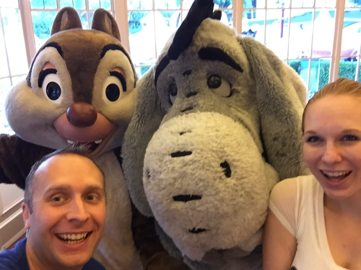 Us, Chip, and Eeyore.
