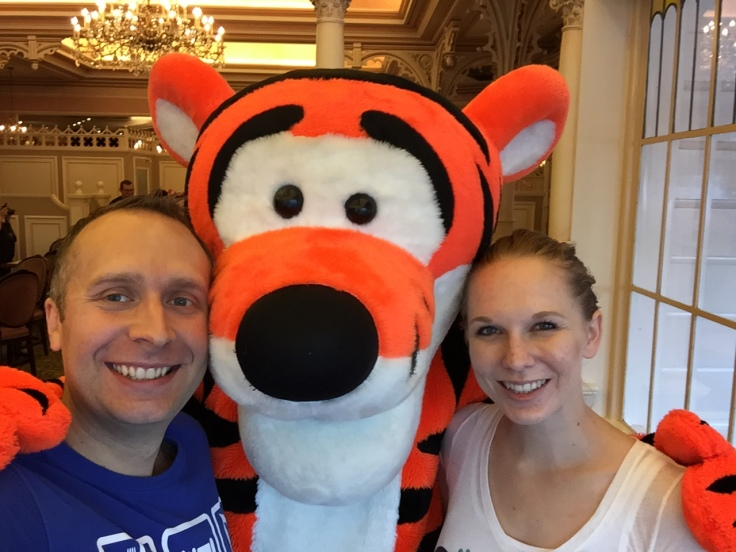 Us and Tigger!