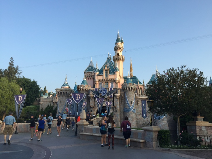 Castle looking glamorous for the 60th