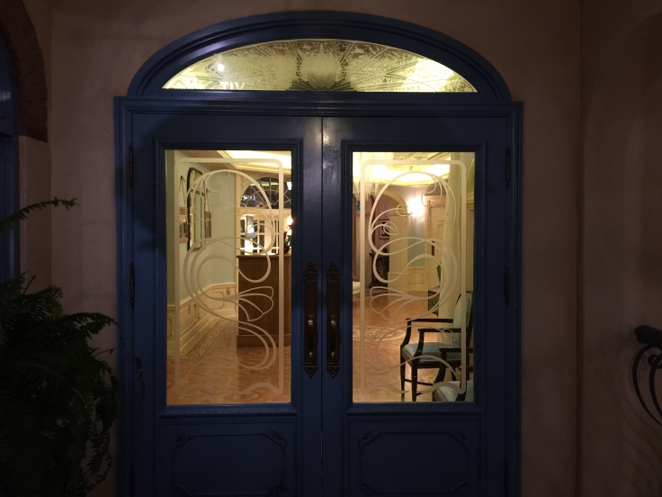 The doors into Club 33