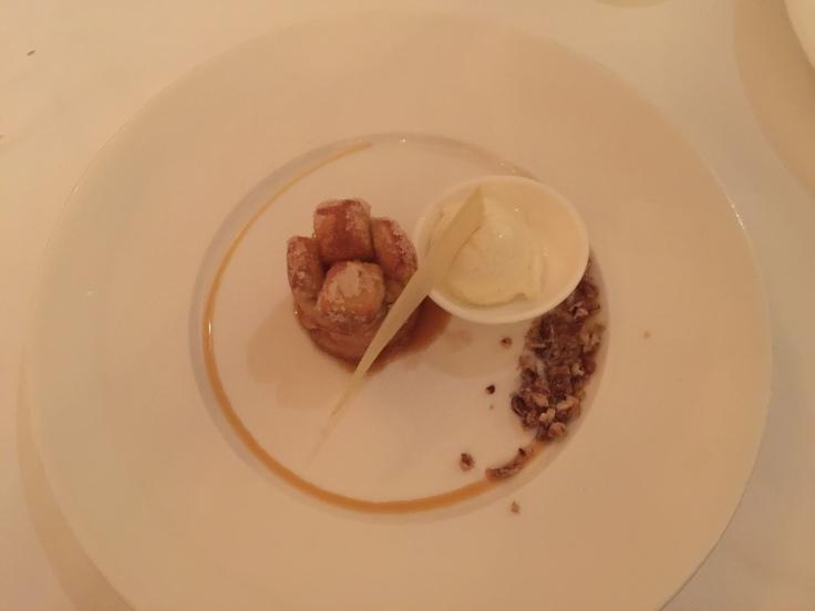 Dessert: Monkey Bread.