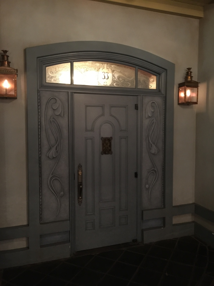 The infamous Club 33 door... well, the new one.